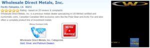 Wholesale Direct Metals Trustlink